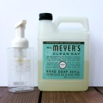DIY Foaming Hand Soap {Don't Buy Soap For YEARS!}