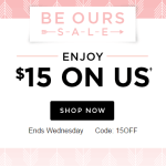Shutterfly: $15 Off $15+ Purchase