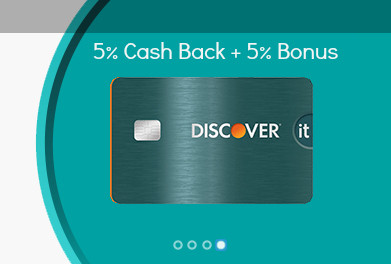 Discover credit card promotion