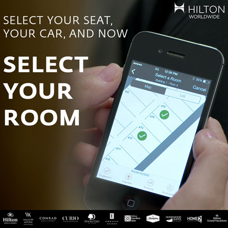 How To Do Hilton Online Check In & Choose Your Room in the