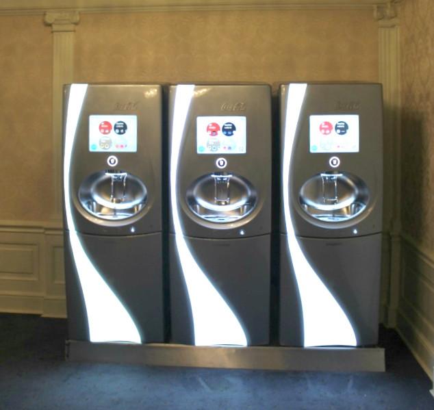 soda machines