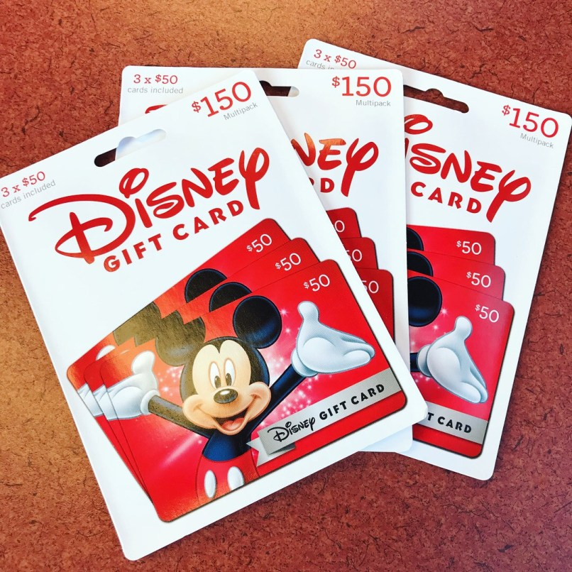 $150 disney gift card discount