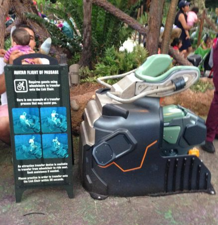 flight of passage ride vehicle