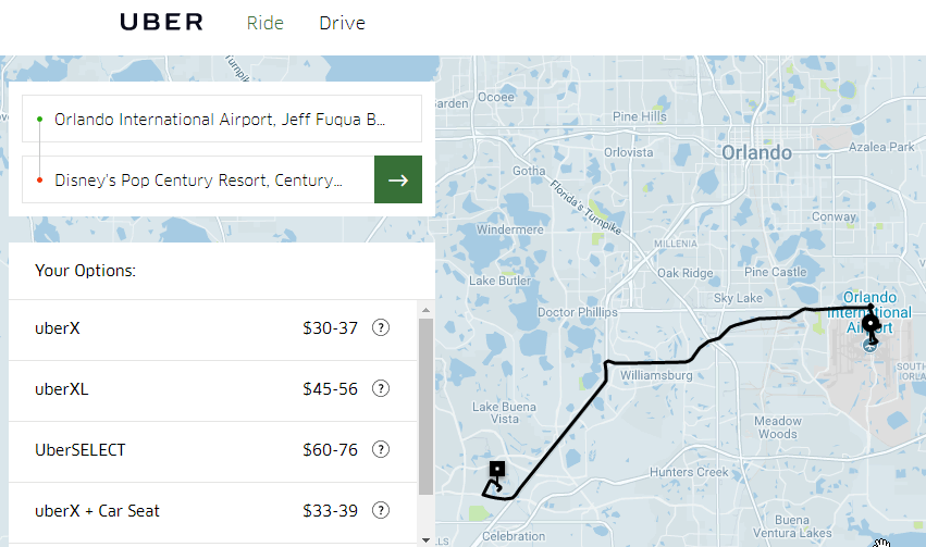 Tips and tricks for using Uber and Lyft at Walt Disney World! Ride sharing is the best way to get around when Disney transportation isn't convenient.