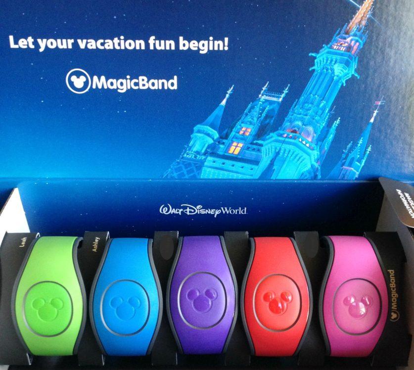 Disney magic bands