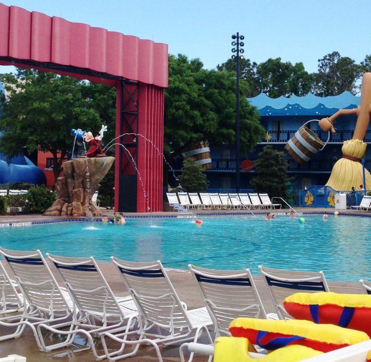main fantastia pool all star movies resort