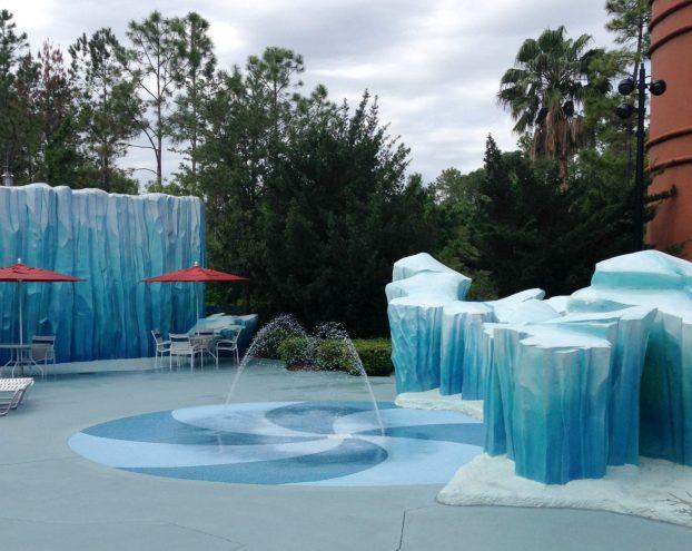 kiddie pool all star movies resort