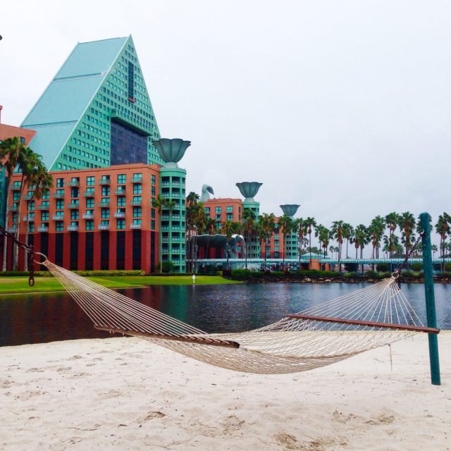 Pros and cons of the Walt Disney World Dolphin, a non-Disney resort located on Disney property! There is so much to know about this unique hotel that is actually a Sheraton property. A thorough resort review of the Disney Dolphin. #disneyworld