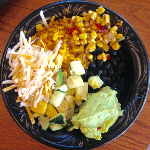 Veggie Bowl at Pecos Bill's, Magic Kingdom