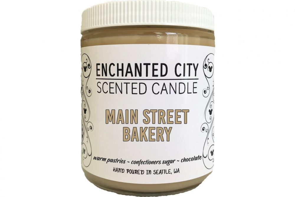 main street bakery disney scented candle