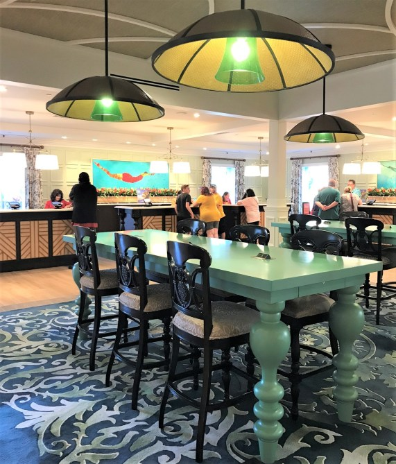 caribbean beach resort renovations new check-in desk
