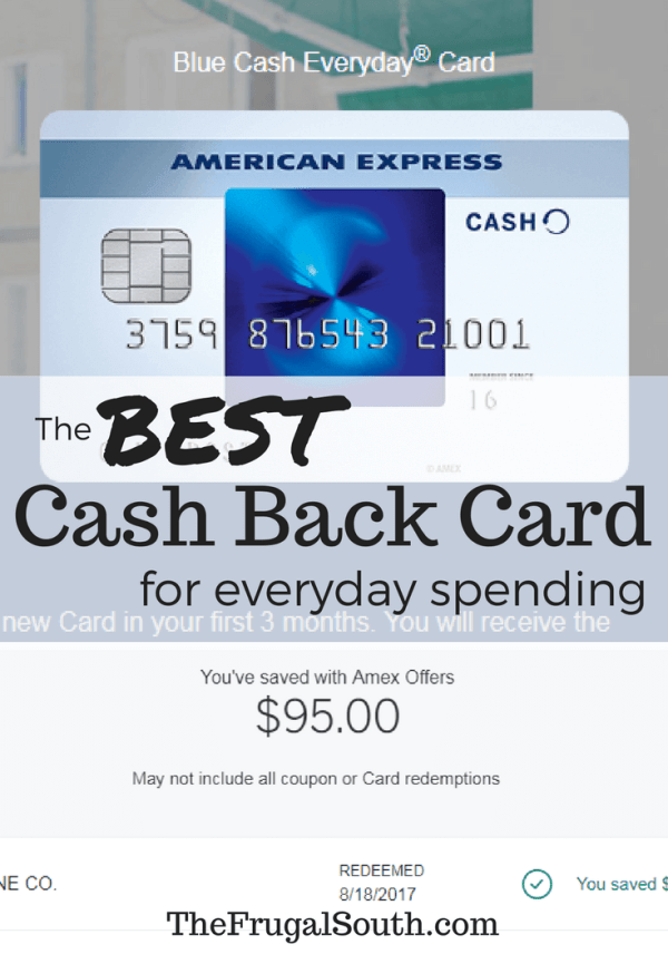 The BEST cash back credit card for everyday spending has no annual fee, $200 signup bonus, and earns 3% back on groceries!