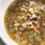 Instant Pot Ham & White Bean Soup