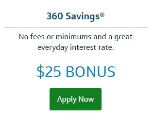 360 Savings promotion