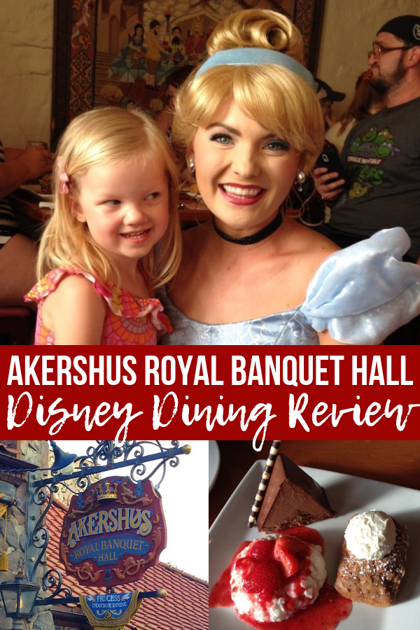 A thorough Akershus Royal Banquet Hall review! Dine with the princesses at Epcot\'s Norway pavilion in Disney World - my favorite princess dining and character dining. Get Disney World tips and tricks, money-saving hacks and more to help with your vacation planning. #disneyworld #traveltips #disneydining