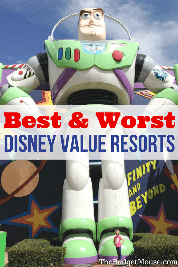 The best (and worst) of the Disney Value Resorts! Get the Disney World Value Resort hotels ranked based on rooms, pools, transportation, cost, and theming. Tips and tricks for planning your Walt Disney World vacation and how to save money on your family trip! #disneyworld