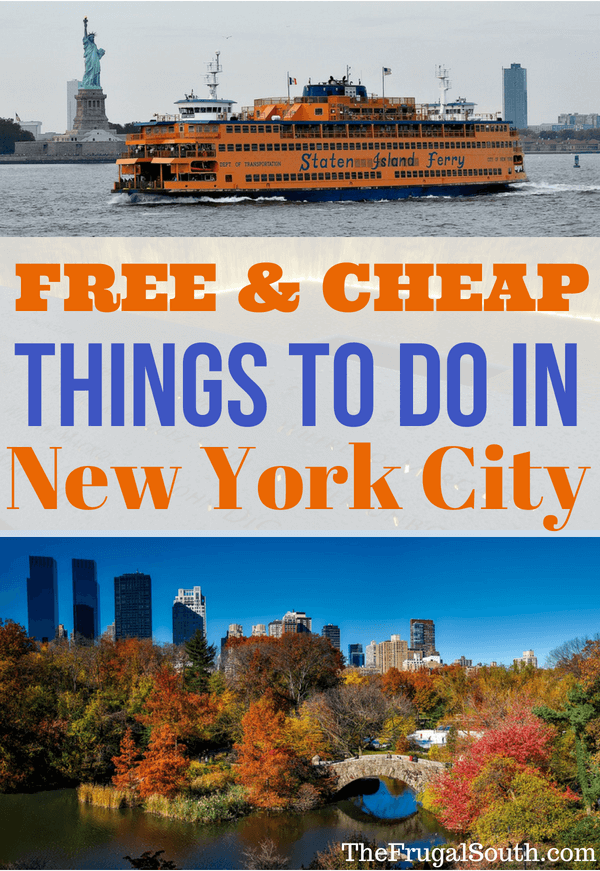 Affordable Things To Do In New York City