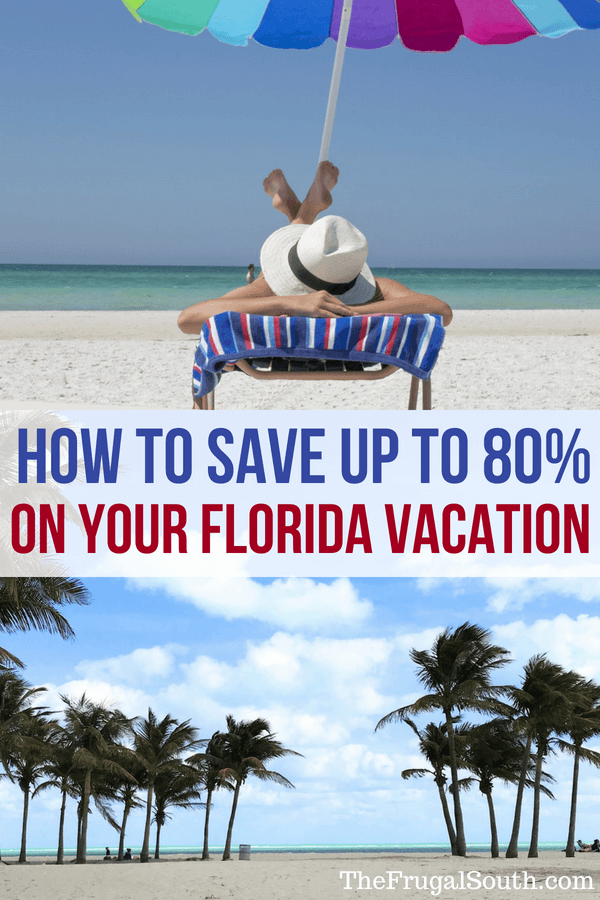 How to use Florida Vacation Auctions to save up to 80% on hotels in Orlando and all over the sunshine state! Travel tips for saving money on Florida destinations. Get cheap travel ideas and hacks from The Frugal South! #traveltips #traveldestinations #travelideas