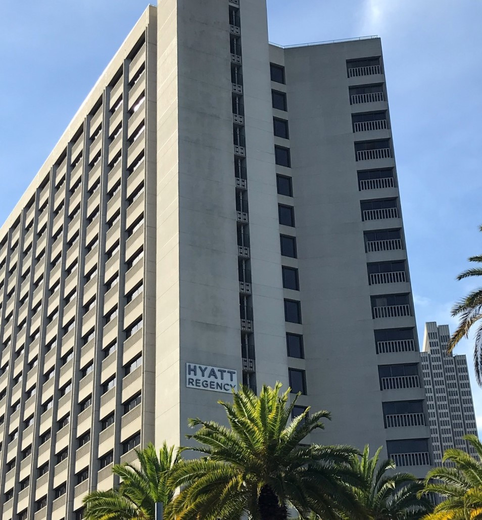 exterior of hyatt regency san francisco family vacation