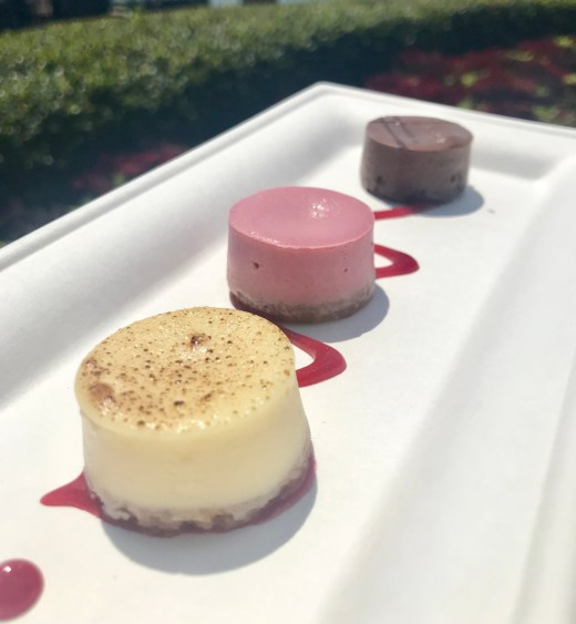 Cheesecake Trio from Sparkling Sips booth