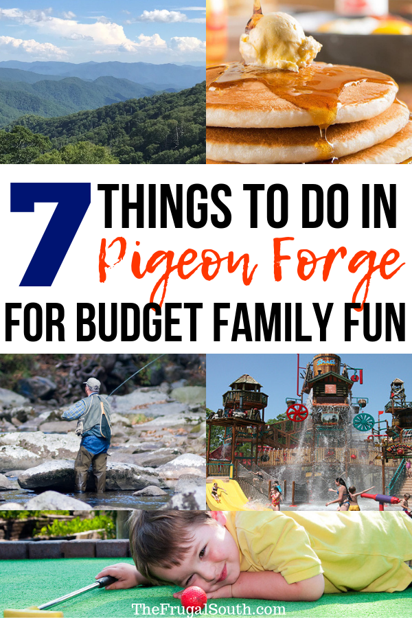 Click to learn 7 cheap and fun Pigeon Forge things to do with kids! These creative Pigeon Forge Tennessee things to do will keep your family entertained and happy on your vacation to the Great Smoky Mountains. Pigeon Forge Tennessee kids activities for the best family vacation this summer or anytime. #pigeonforge #greatsmokymountains #pigeonforgetennessee #pigeonforgethingstodo #smokymountainsvacation