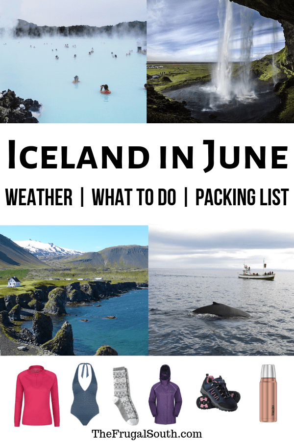 Learn everything you need to know about visiting Iceland in June! Iceland travel in the summer isn\'t your average vacation! Get my tips for an Iceland summer trip - what to pack, weather, crowds, what to do in Iceland in the summer, and more. #iceland #icelandinjune #icelandtravel #summeriniceland