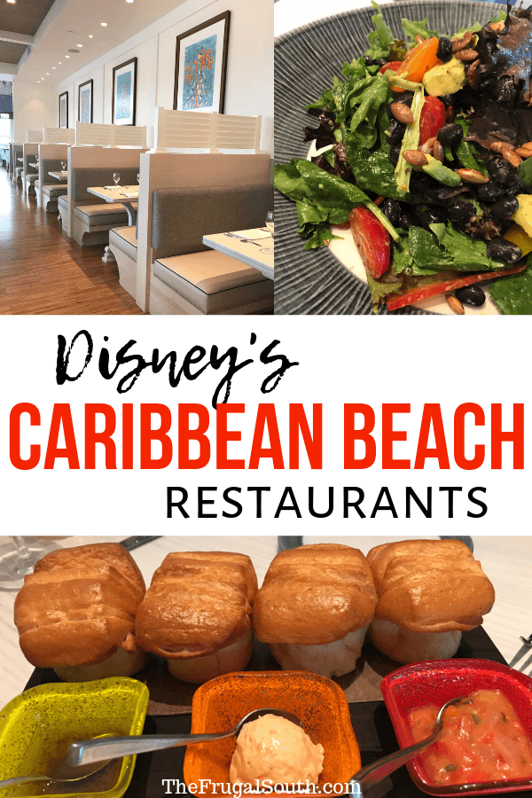 Disney Caribbean Beach Resort 2019 restaurant overview with details about the 4 new dining locations at this Disney Moderate resort! Get the lowdown on the Caribbean Beach Resort renovations to the restaurants. New quick service dining and table service dining at Disney\'s Caribbean Beach resort. #caribbeanbeachresort #disneycaribbeanbeach #disneydining