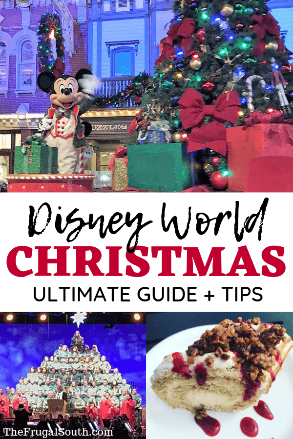 Disney World Christmas Ultimate Guide + Tips!