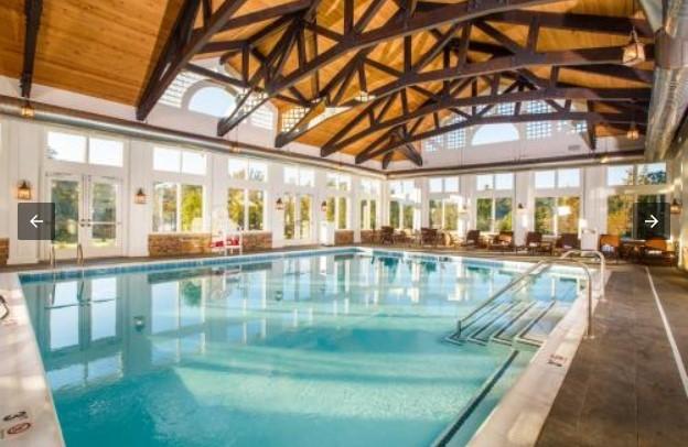 Dollywood's DreamMore Resort indoor pool