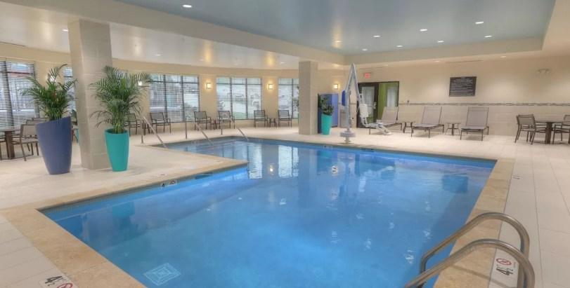 Hilton Garden Inn Pigeon Forge Indoor Pool