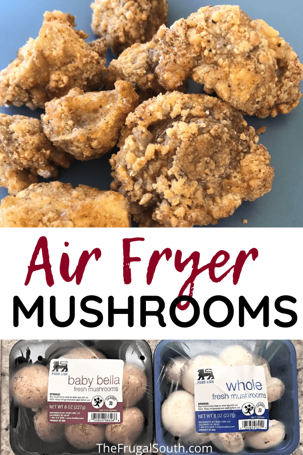 Easy Air Fryer Mushrooms