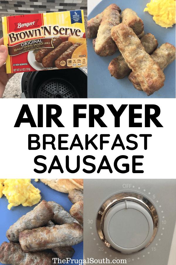 Easy Air Fryer Sausage