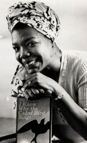 I know why a caged bird sings Maya Angelou