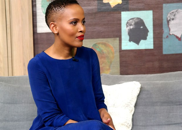 Mathahle Stofile on Afternoon Express, talking beauty.