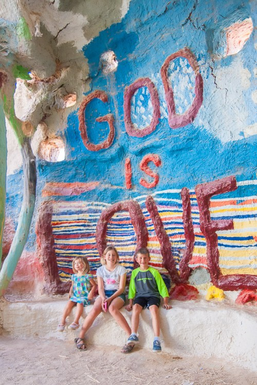 Salvation Mountain, God is Love