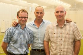 Nasser, Tim and me