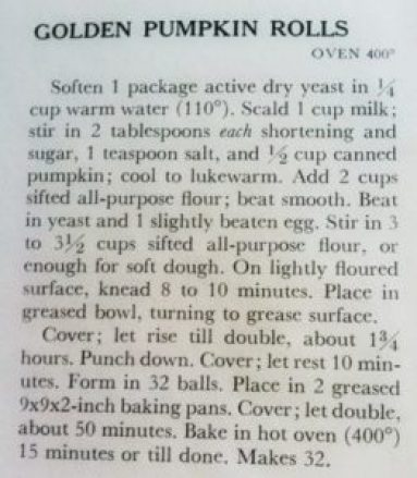 Golden Pumpkin Rolls Recipe- Better Homes and Gardens