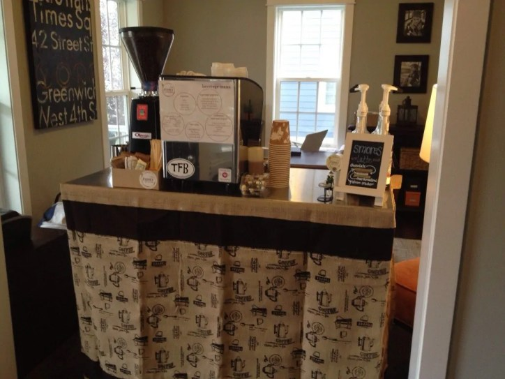 coffee cart catering at home - coffee-cart-catering-at-home - The Funky Brewster Coffee Catering