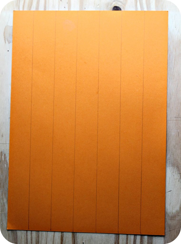 diy citrouille en papier -the funky fresh project
