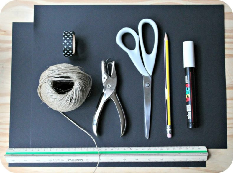 DIY guirlande halloween - the funky fresh project