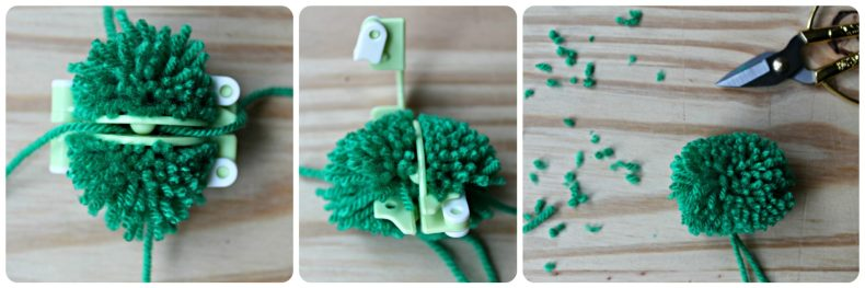 DIY - Un cadre pompons - The Funky Fresh Project