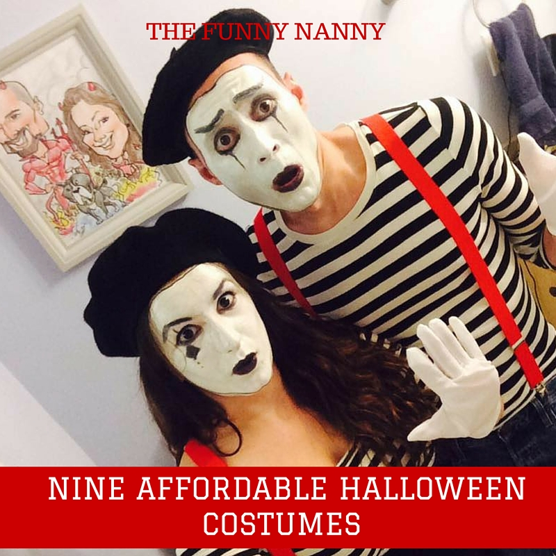 Mime Halloween Costume Couple  sc 1 st  The Funny Nanny & Nine Affordable Halloween Costumes