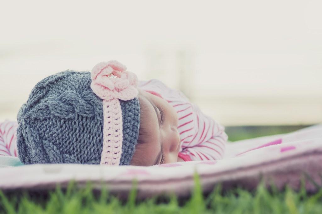 baby sleeping baby photography