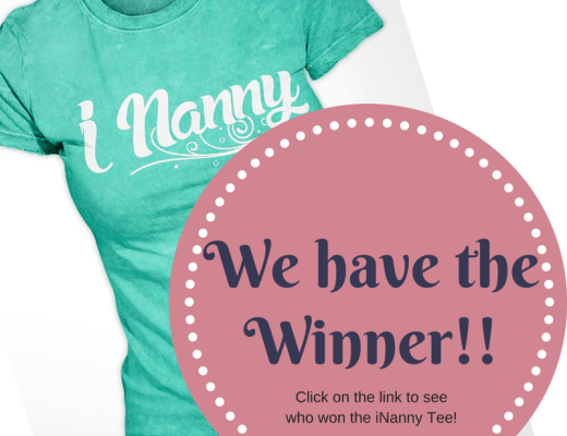 Winner of the nanny giveaway #nanny #gift