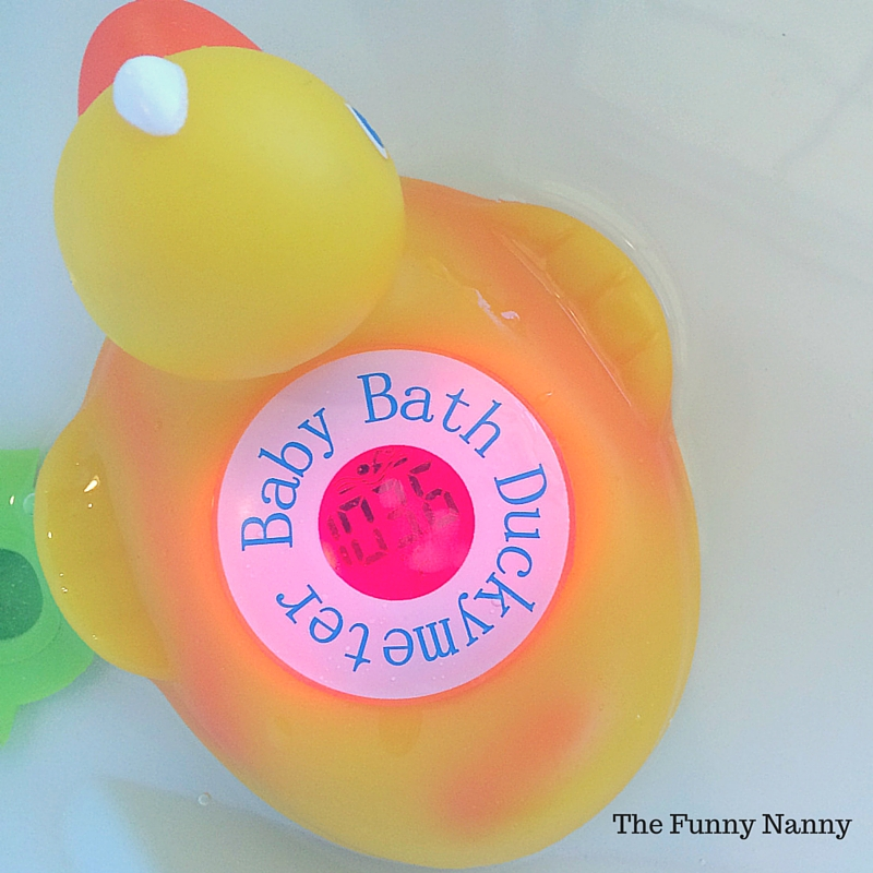 Duck Bath Thermometer - Perfect Baby Shower Gift!