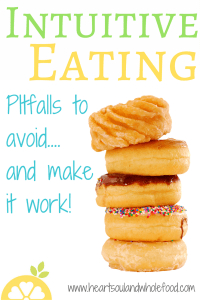 intuitive eating eating disorder binge eating anorexia healthy dieting