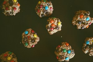 Sugar Free, Gluten Free, Date Sweetened, Monster Cookie Recipe, gluten free monster cookies, monster cookies with dates