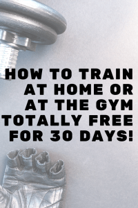 If the personal training cost at the gym is way too high or you can't afford a gym membership see how you can start training at home OR at the gym for less.