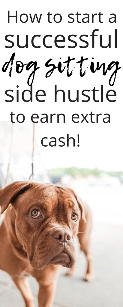 Check out how you can earn extra cash by starting a side hustle in dog sitting. Read these must see FAQ about Rover and how to get paid to love dogs! #sidehustle #dogsitting #extracash #workfromhome