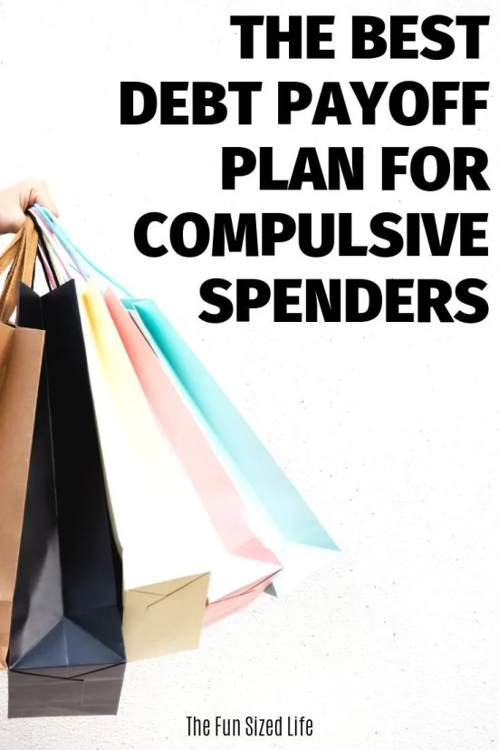 Best debt payoff plan for compulsive spenders